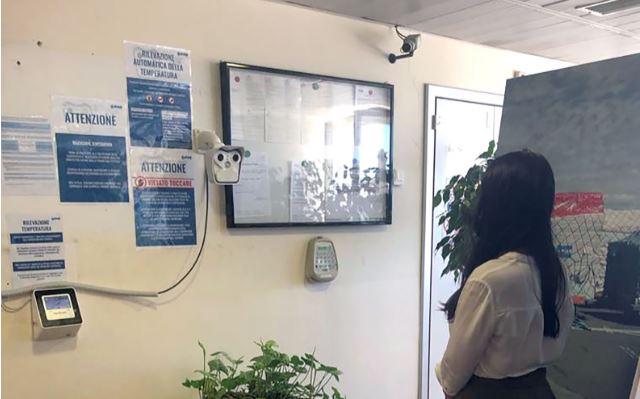 Malpensa: Wärmebildkameras bieten Schutz des Personals rund um Covid-19
