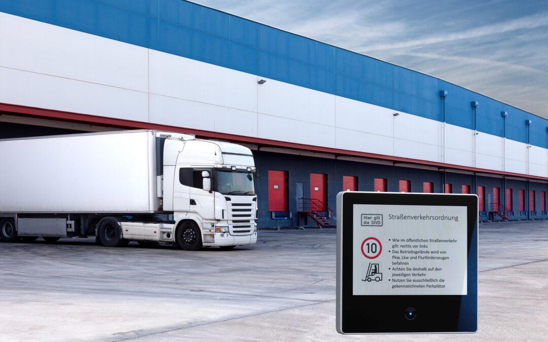 Lieferverkehr-Management garantiert reibungslose Abwicklung des Werksverkehrs