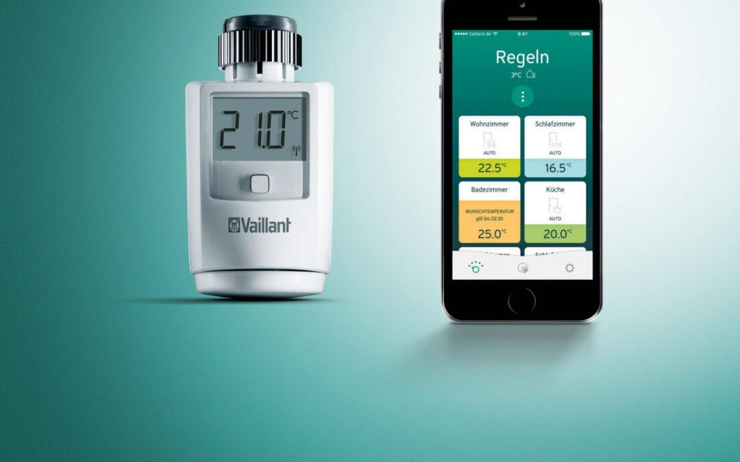 Vaillant setzt flächendeckend auf Smart-Home-Technologie von Homematic IP