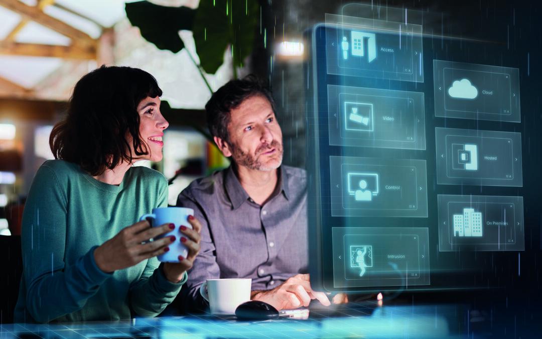 """Siemens bietet """"Security as a Service"""" für den sicheren Gebäudebetrieb an"""