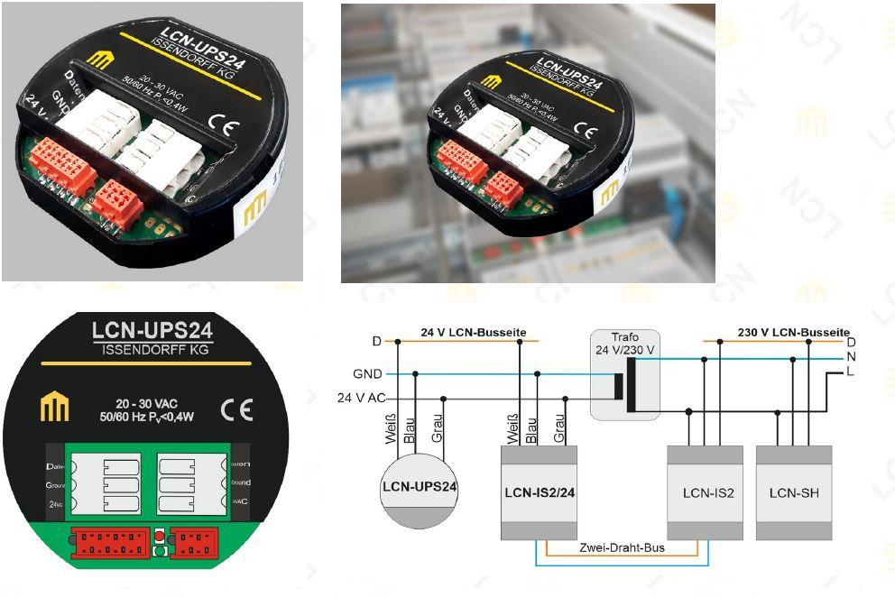 LCN-Sensormodul für 24 Volt-Betrieb