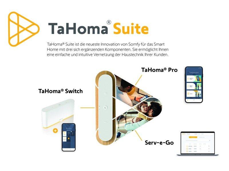 Tahoma Suite von Somfy: Die Zukunft der smarten Profis ist vernetzt