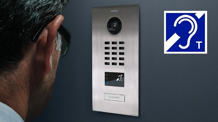 Doorbird garantiert barrierefreie Türkommunikation
