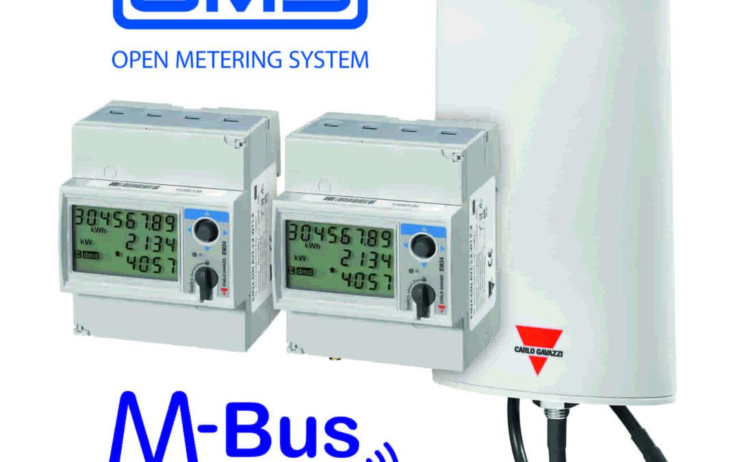 Energiezähler EM24 W1 mit OMS-Zertifizierung