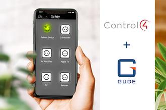 Control4-Treiber für smarte Stromlösungen